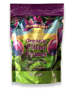 Organic Pitted Prunes (12 bags)